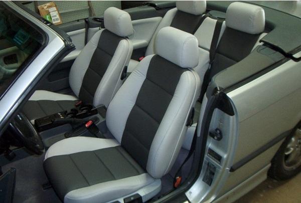 bọc da thật ghế ô tô từ Thiên Hưng Auto giúp nội thất ô tô đẳng cấp hơn