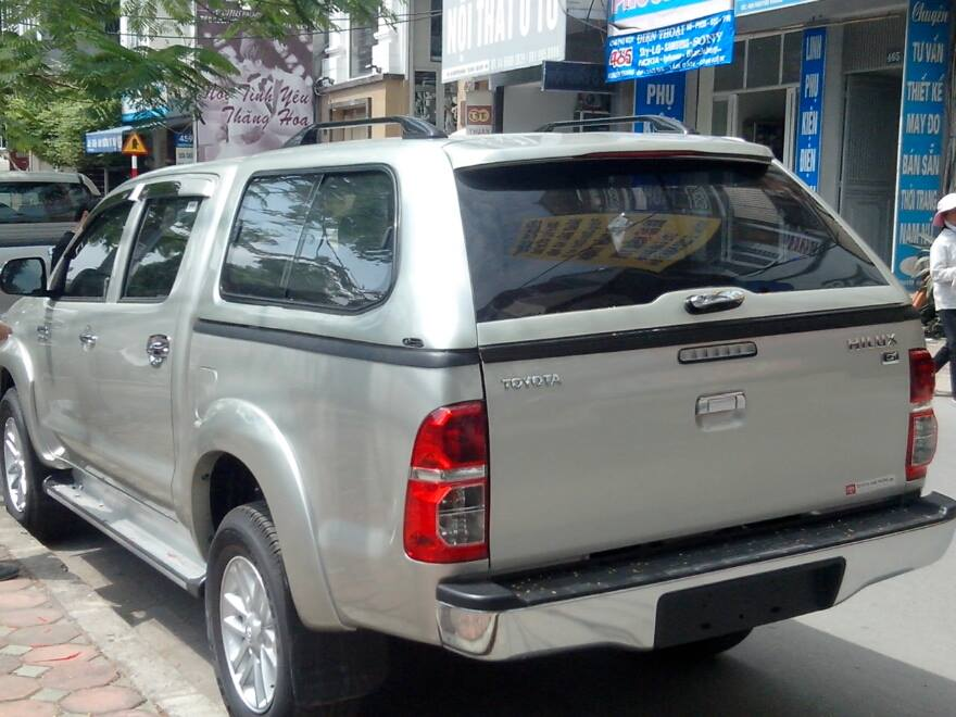 canopy cao toyota hilux gse