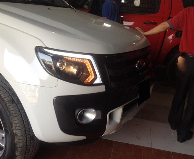 do den pha led Ford Ranger