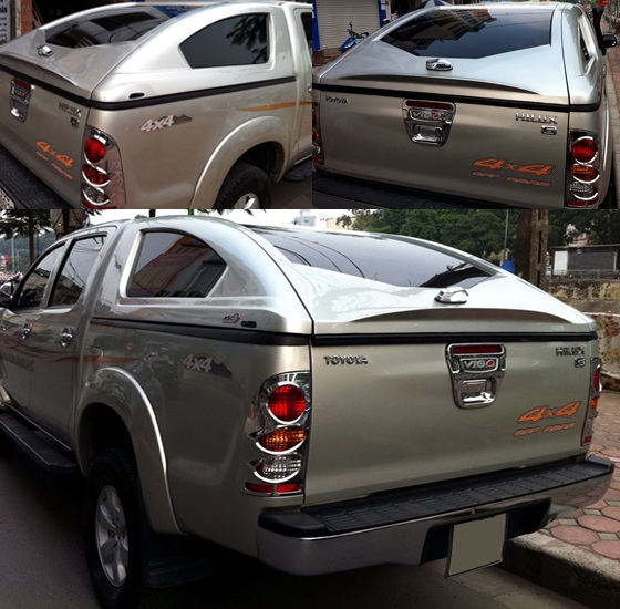 nap thung canopy toyota hilux x6